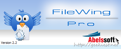 AbelsSoft FileWing PRO unlimited Licenses