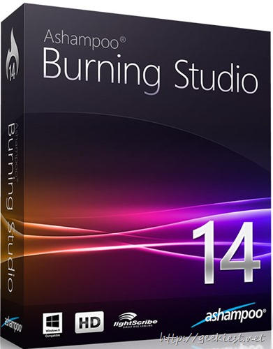 Ashampoo Burning Studio 14 - Giveaway