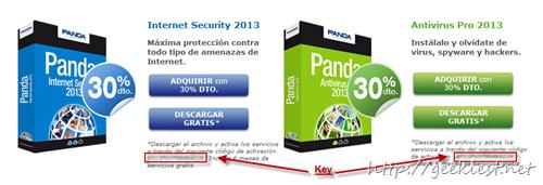 Free Panda Internet Security 2013 and Panda  Antivirus Pro 2013