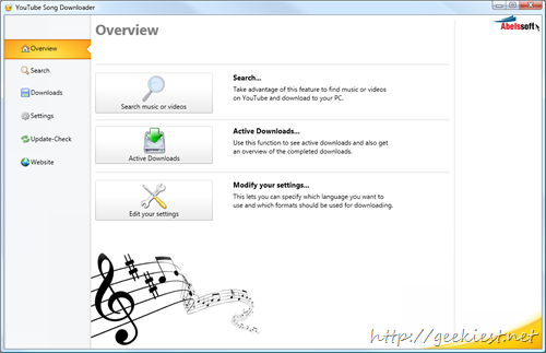 AbelsSoft Youtube Song Downloader