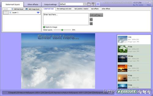Free Easy Watermark Studio Pro 3.5 full version license