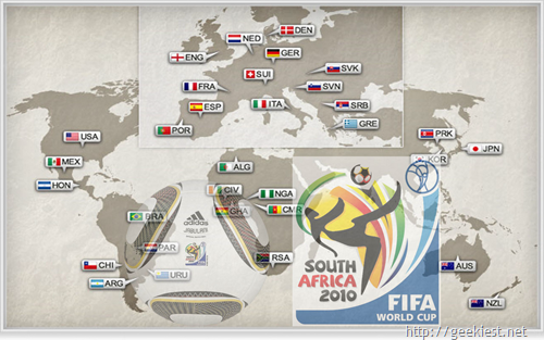 Fifa World cup 2010 South Africa Wallpaper collections