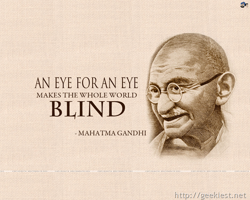 gandhi quotes on peace. Happy Gandhi Jayanti - Mahatma