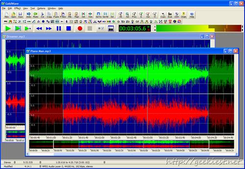 Free GoldWave 1 year license worth 49USD - Digital audio editor