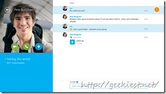 skype for w8