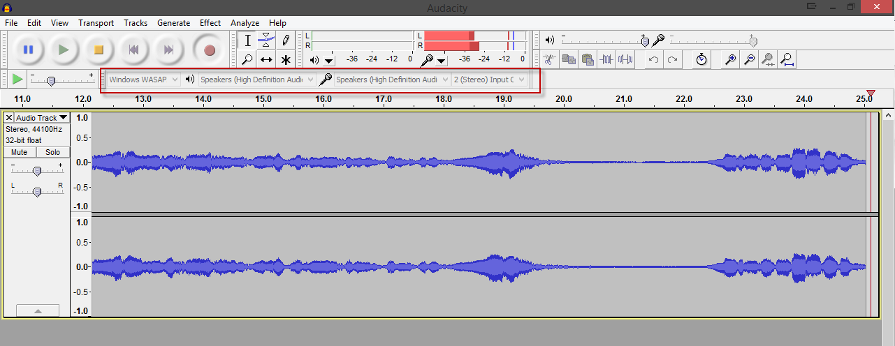 Audacity free open source sound recording and editing software