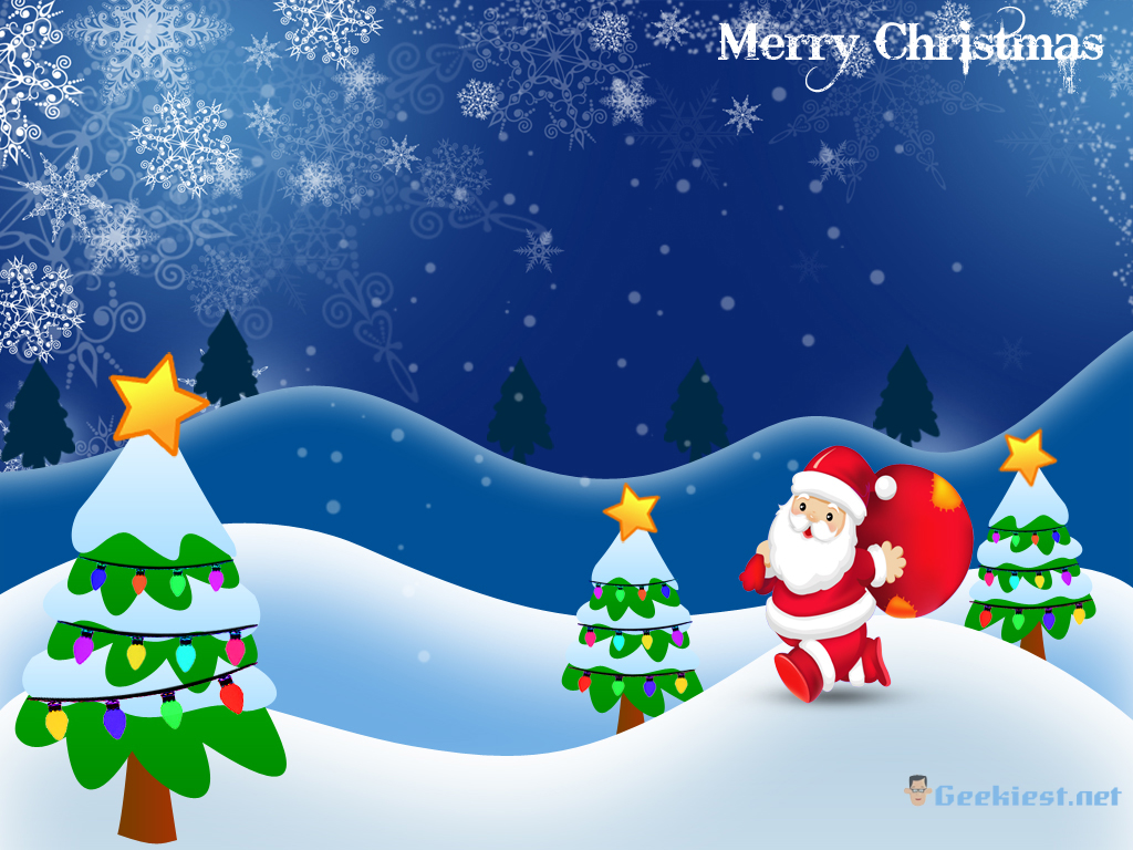 Merry Christmas - Christmas Wallpapers and windows 7 themes from