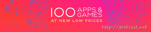 100 Apps and Games for iOS - INR 10 per App