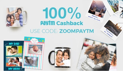 100 percent cashback on ZOOMin