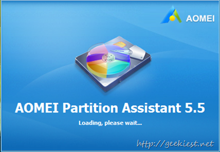 AOMEI Partition Assistant Pro 5