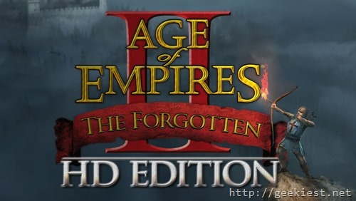 Age of empires II HD expansion the Forgotten