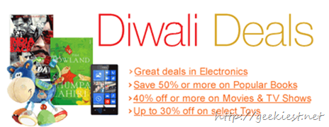 Amazon India diwali offers