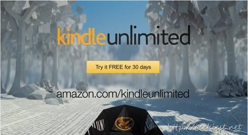 Amazon Kindle Unlimited -  Book Subscription service announced