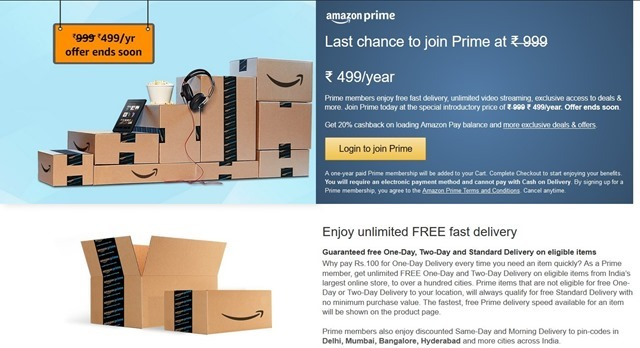 Amazon Prime price to be hiked