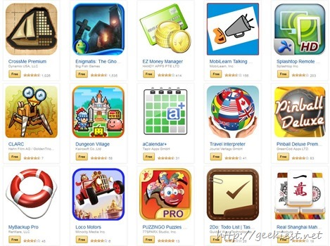 Amazon android applications free for two days
