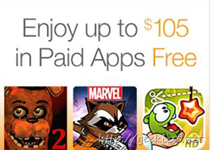 Android Applications worth USD 105 for FREE
