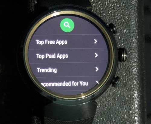 Android Apps install directly from watch