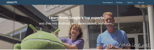 Android Devlopment Cources Free from Google and Udacity