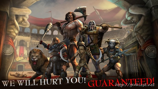 Android Game I, Gladiator is FREE now