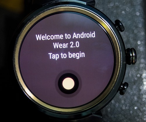 Android Wear 2.0 and Asus Zen Watch