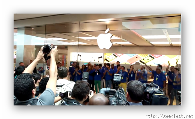 Apple Store Launch in Brazil