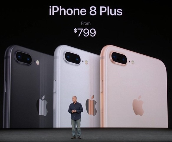Apple iPhone 8 plus price
