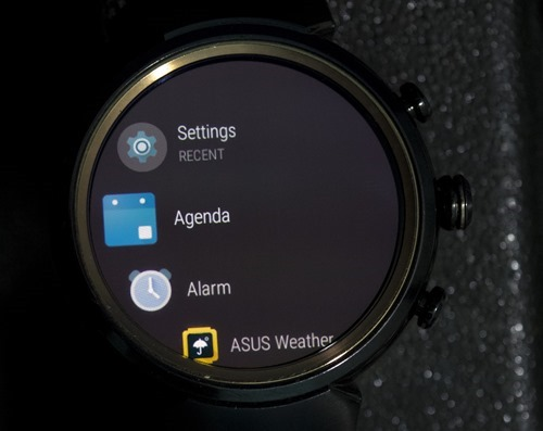 Applications Android Wear 2.0