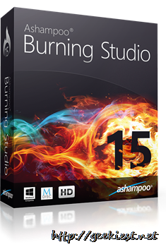 Ashampoo Burning Studio 15– Review and Giveaway