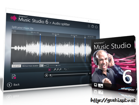 Ashampoo Music Studio 6–Review and Giveaway