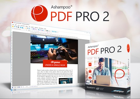 Ashampoo PDF PRO 2–Review and Giveaway