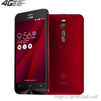 Asus Zenfone 2 Launched in Taiwan–Price and Details