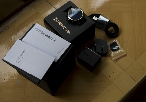 Asus Zenwatch 3 Unboxing Image 10