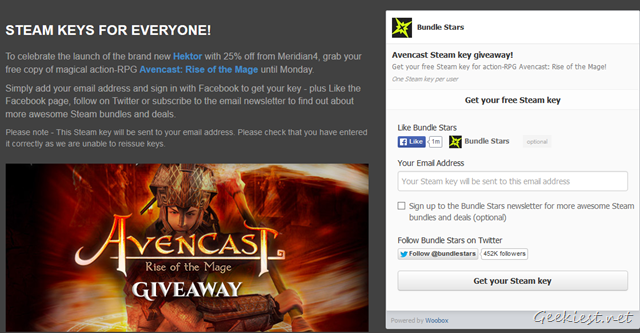 Avencast Rise Of The Mage Free Steam Key