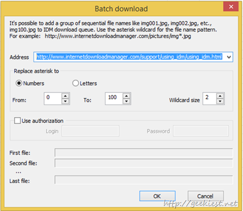 Batch Downloader
