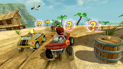 Beach Buggy Racing–Now available for windows phones