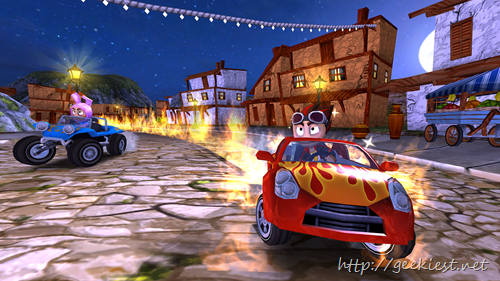 Beach Buggy Racing Free racing game for Android and Windows