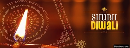 Beautiful Diwali Facebook Cover Photo -03
