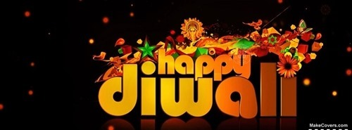 Beautiful Diwali Facebook Cover Photo -05