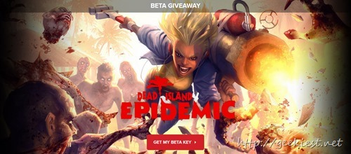 Beta Giveaway - Free Beta Key of Dead Island Epidemic