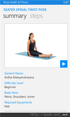 Bing Health and Fitness Yoga