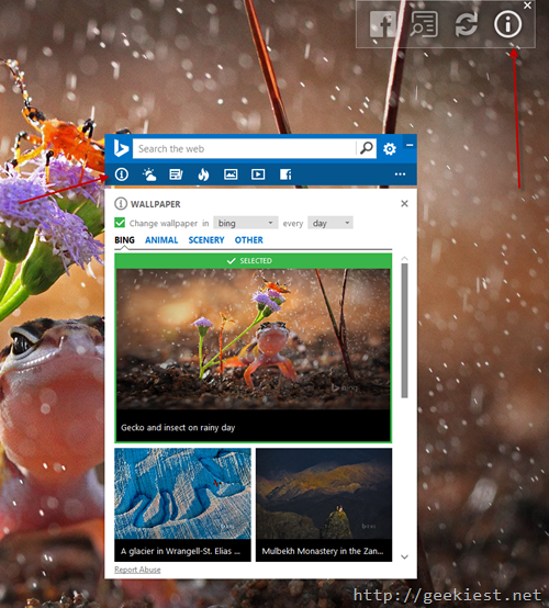 Bing wallpaper toolset