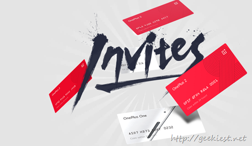 Book a Oneplus 2 Invite