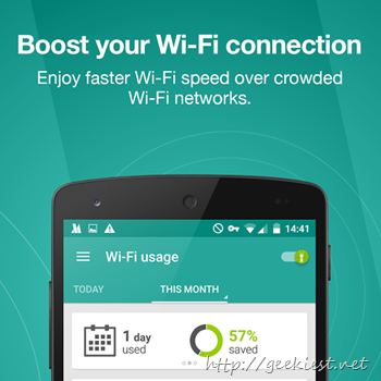 Boost Wi-Fi data