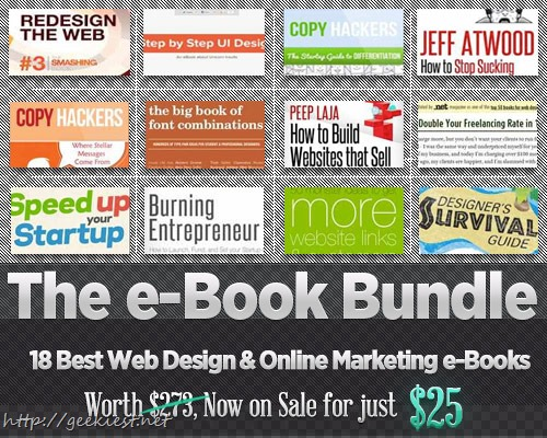BundleHunt - First e-Book Design Bundle for just USD 25