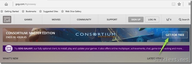 CONSORTIUM MASTER EDITION giveaway 2