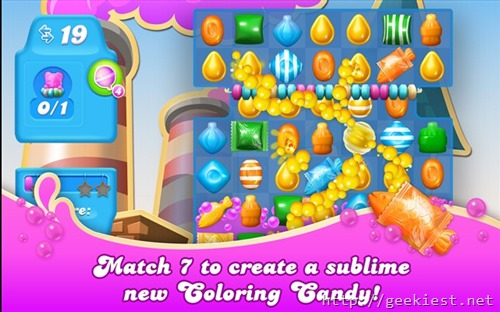 Candy Crush Soda for Windows Phones and Pcs