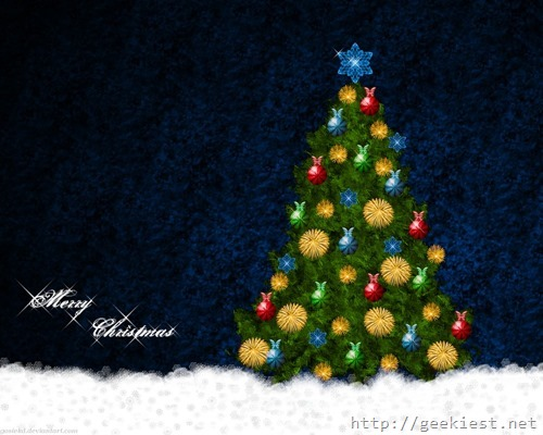 Christmas wallpaper collection 04