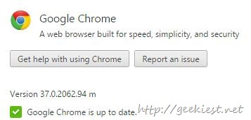 Chrome 64 bit stable