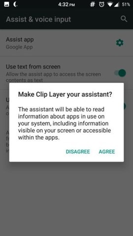 Clip Layer assist