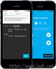 CodeAcademy Hour of Code iPhone